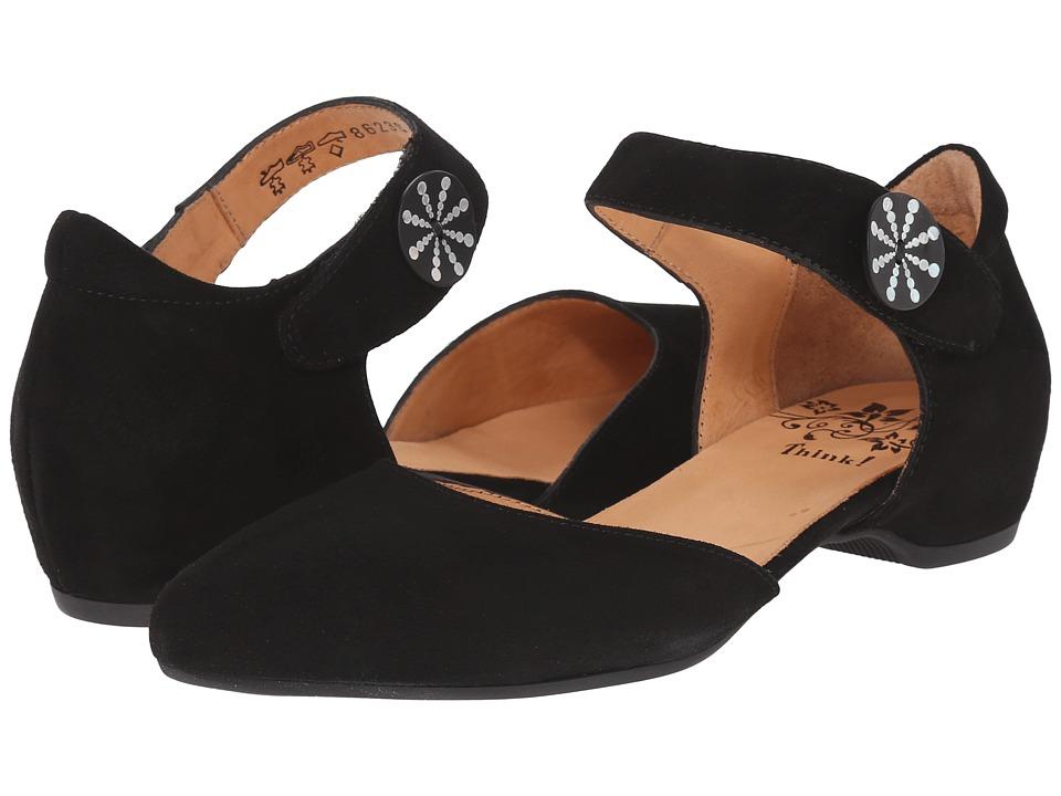 Think! - 86238 (Black) Women's Maryjane Shoes