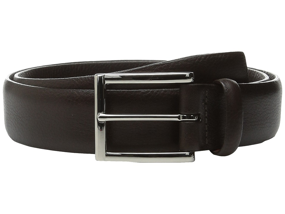 Torino Leather Co. - Italian Glove Leather Soft (Brown) Men's Belts