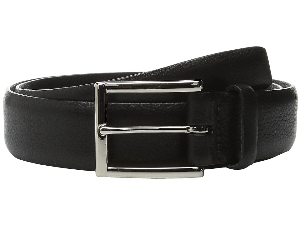 Torino Leather Co. - Italian Glove Leather Soft (Black) Men's Belts