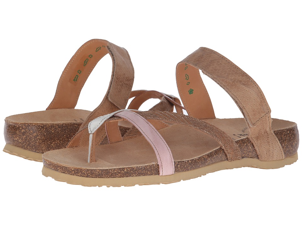 Think! - 86334 (Cappucino/Kombi) Women's Sandals