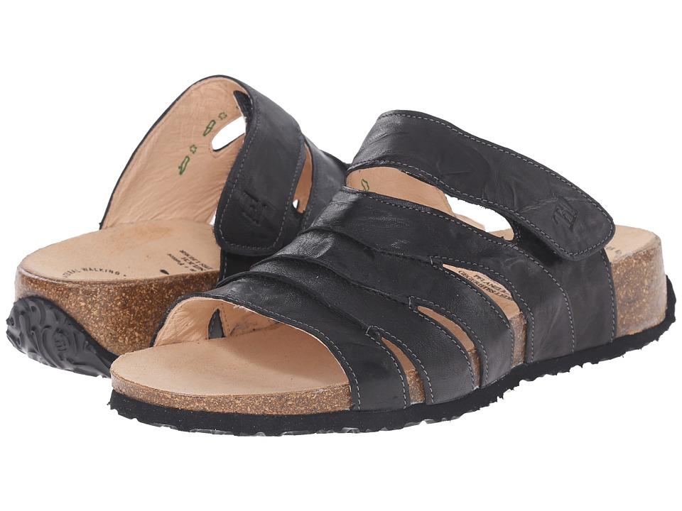 Think! - 86356 (Black/Kombi) Women's Sandals
