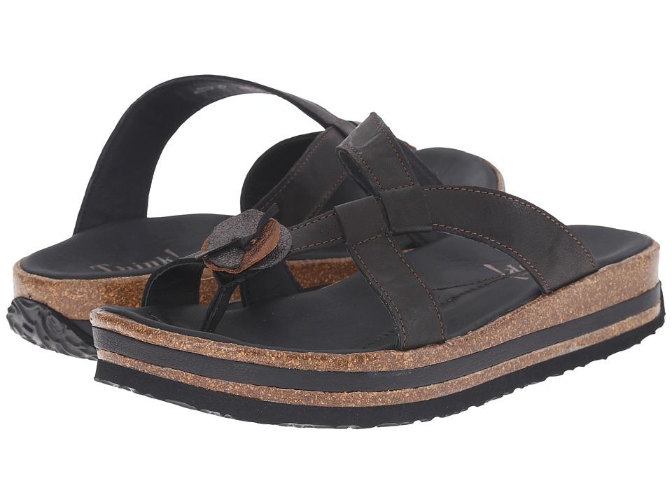 Think! - 86383 (Black/Kombi) Women's Sandals