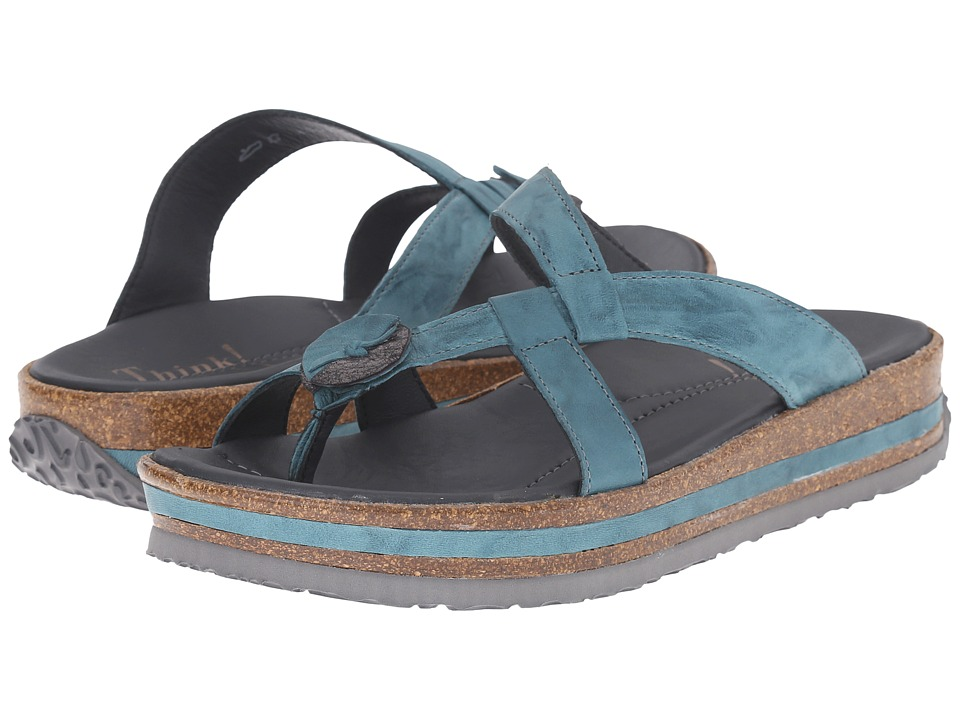 Think! - 86383 (Lagune/Kombi) Women's Sandals