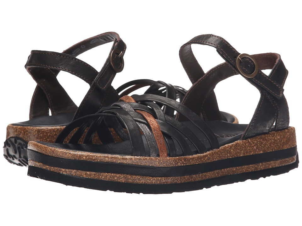 Think! - 86385 (Black/Kombi) Women's Sandals