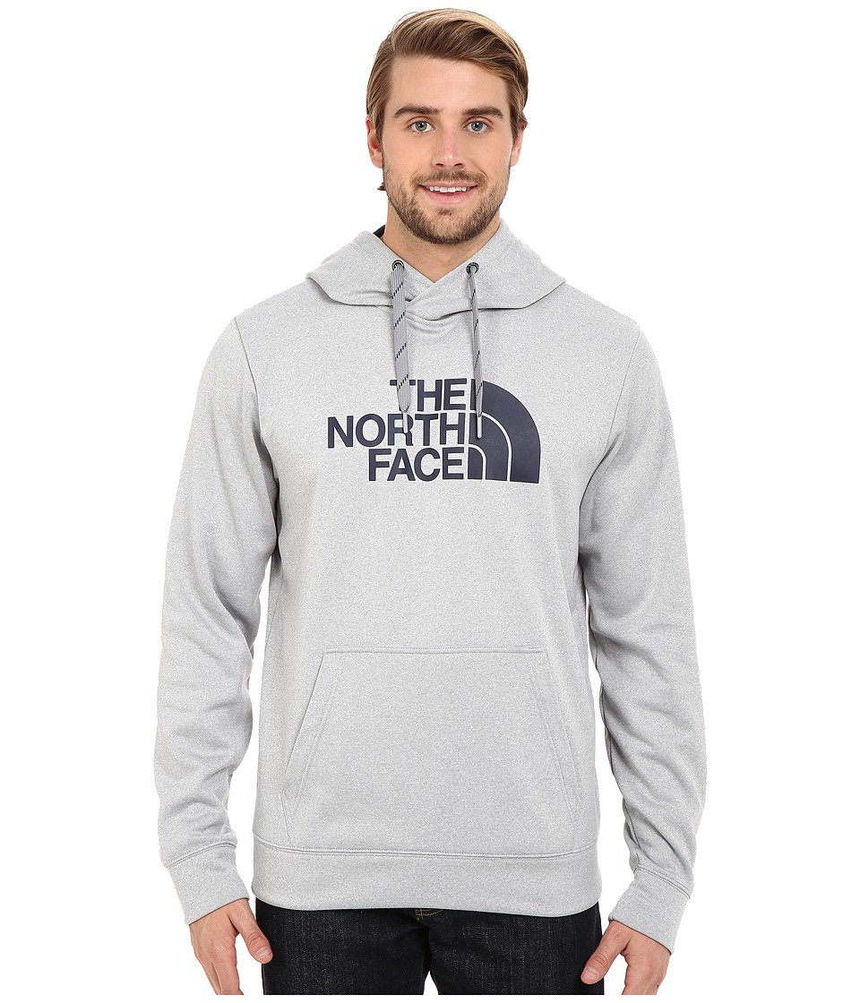 The North Face - Surgent Half Dome Hoodie (TNF Light Grey Heather/Cosmic Blue) Men's Sweatshirt
