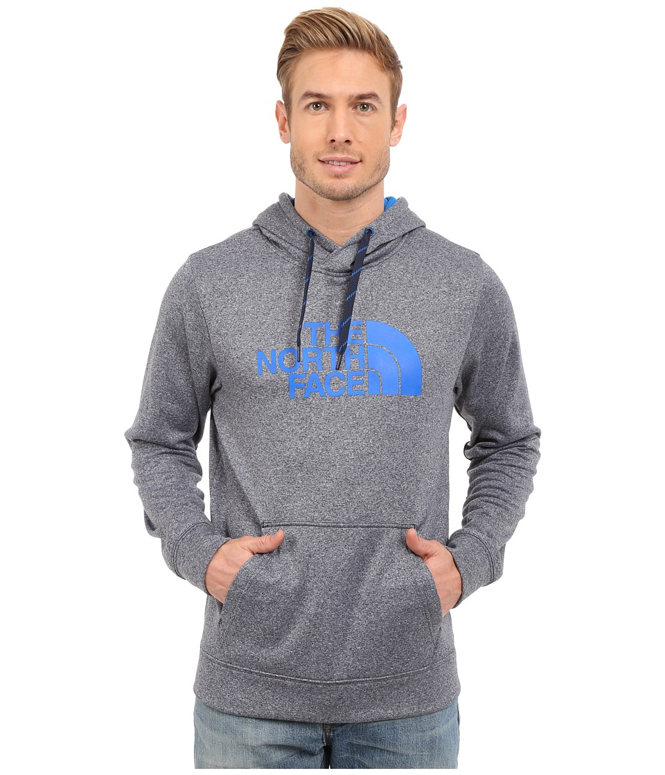 The North Face - Surgent Half Dome Hoodie (Cosmic Blue Heather/Bomber Blue) Men's Sweatshirt