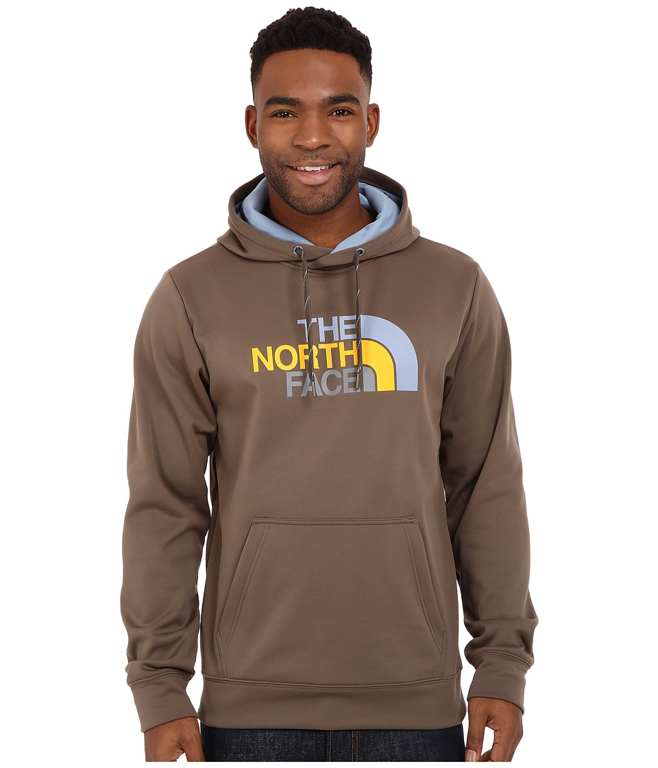 The North Face - Surgent Half Dome Hoodie (Weimaraner Brown/Faded Denim Multi) Men's Sweatshirt