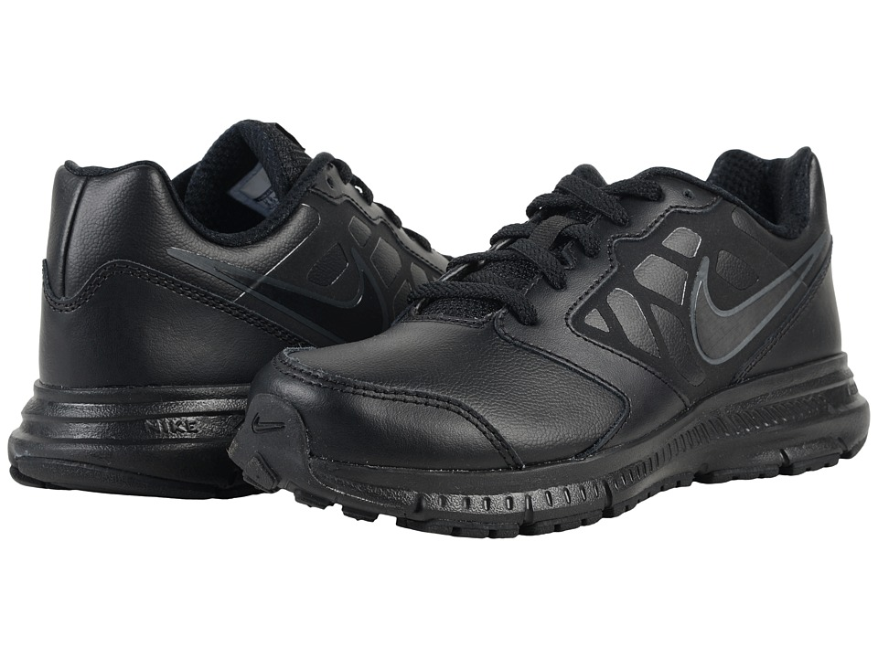 Nike Kids - Downshifter 6 LTR (Little Kid/Big Kid) (Black/Anthracite/Black) Boys Shoes