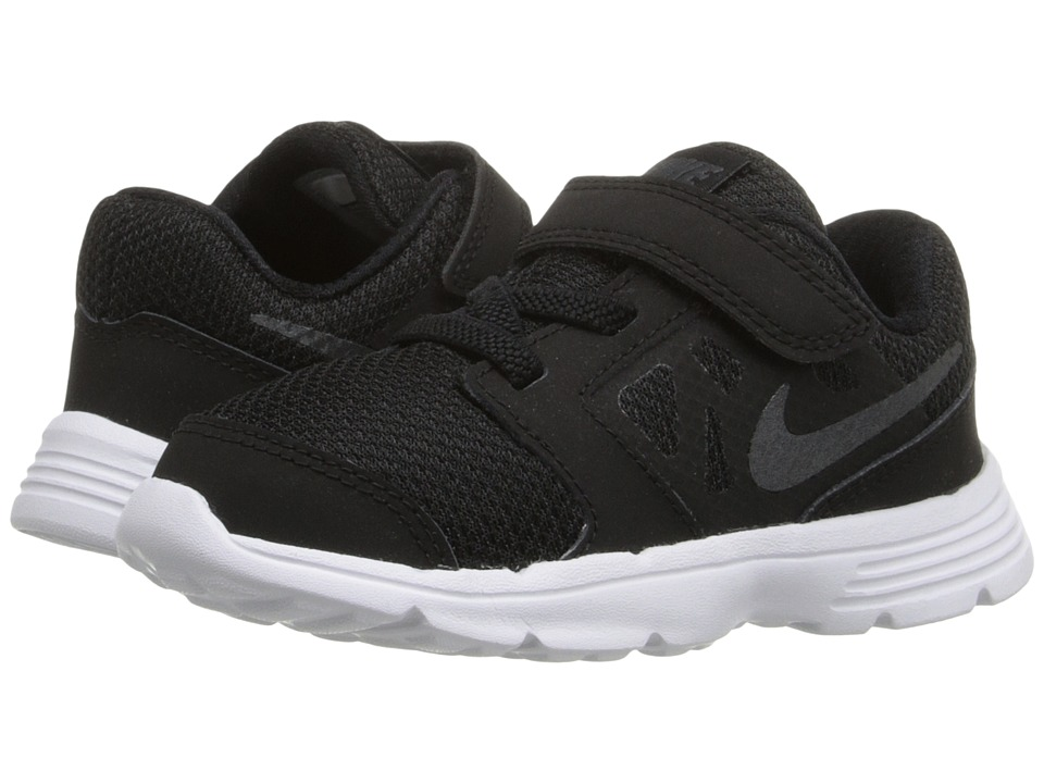Nike Kids - Downshifter 6 (Infant/Toddler) (Black/White/Anthracite) Boys Shoes