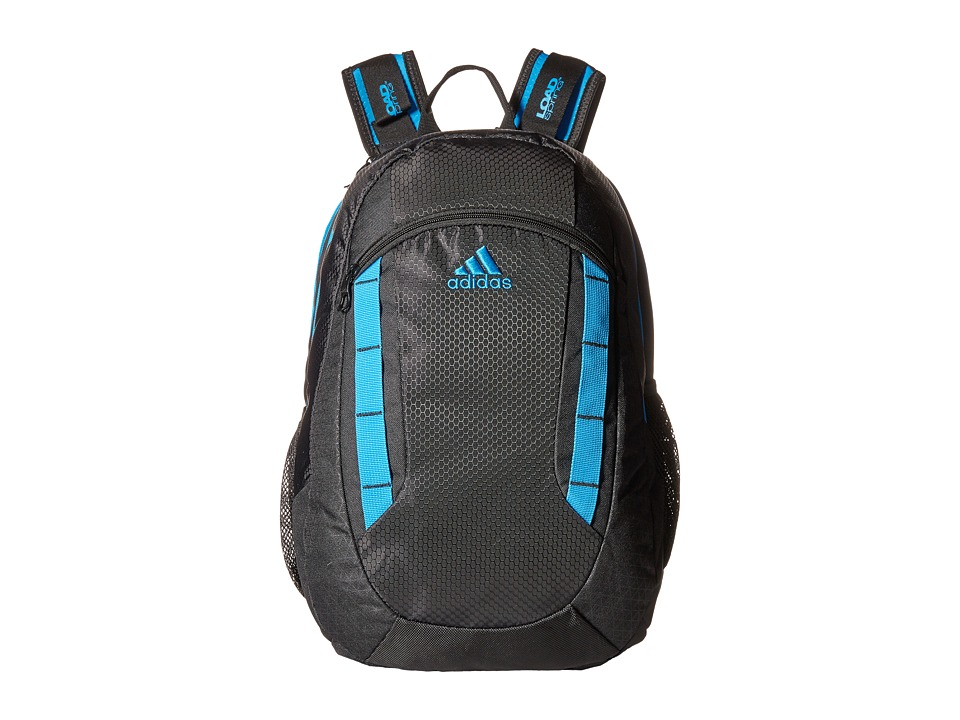 adidas - Excel Backpack (Black/Solar Blue) Backpack Bags