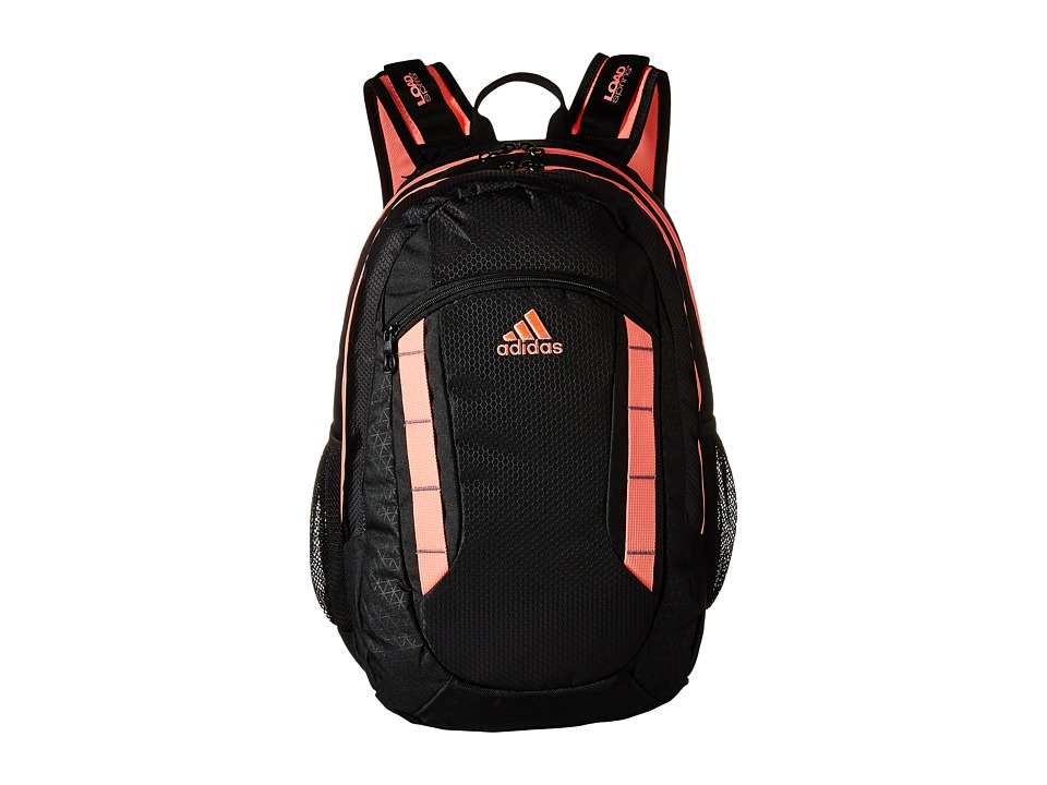 adidas - Excel Backpack (Black/Light Flash Red) Backpack Bags