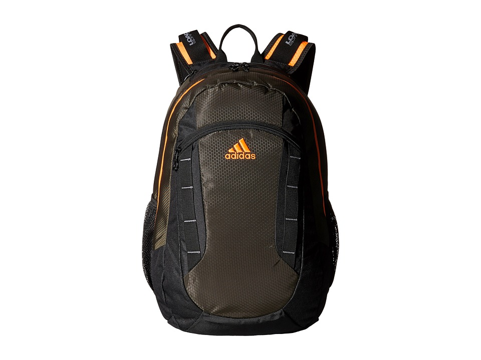 adidas - Excel Backpack (Night Cargo/Solar Orange) Backpack Bags