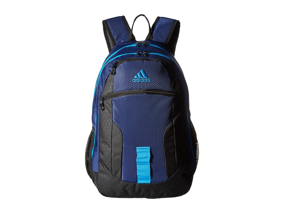 adidas - Foundation Backpack (Dark Blue/Solar Blue) Backpack Bags