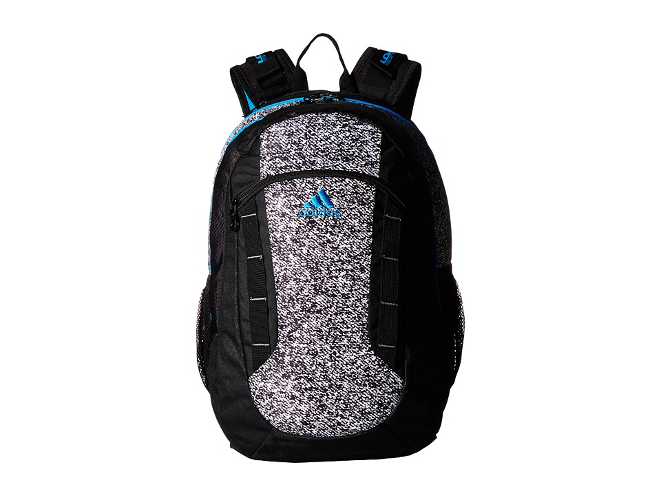 adidas - Excel Backpack (Oblivion White/Solar Blue) Backpack Bags