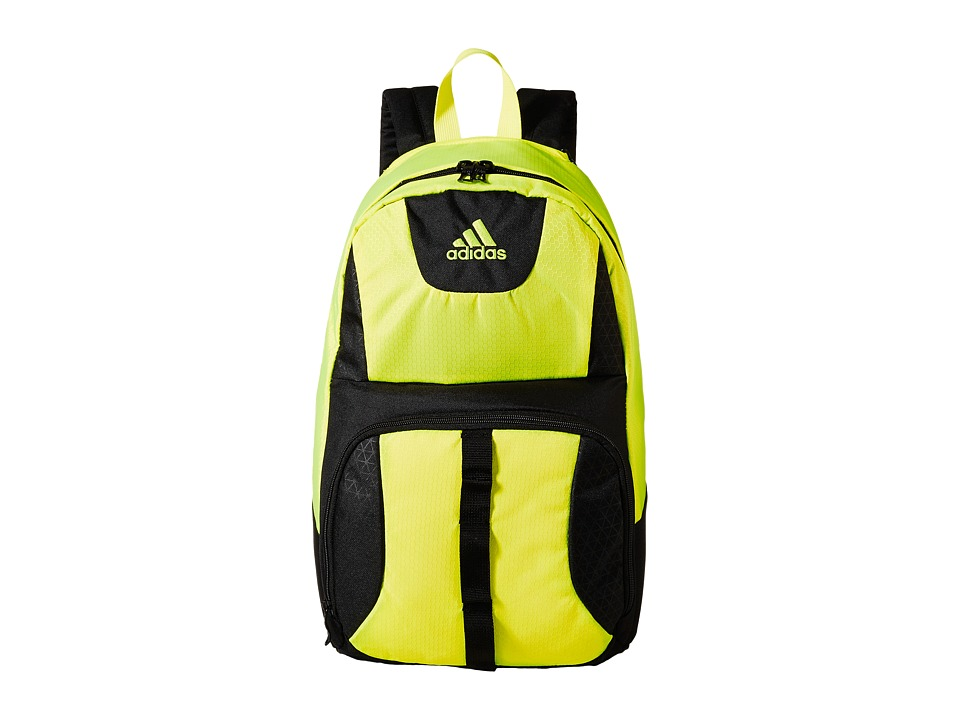 adidas - Reversible Academic Backpack (Black/Solar Yellow) Backpack Bags