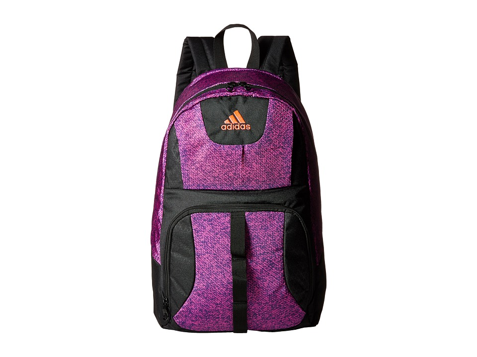 adidas - Reversible Academic Backpack (Oblivion Flash Pink/Flash Red) Backpack Bags