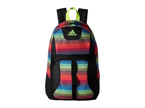 adidas - Reversible Academic Backpack (Reyes Solar Pink/Solar Yellow) Backpack Bags