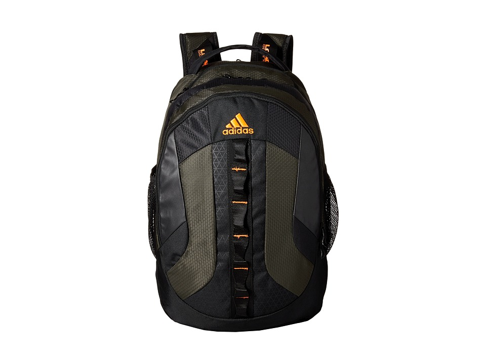 adidas - Prime Backpack (Night Cargo/Solar Orange) Backpack Bags