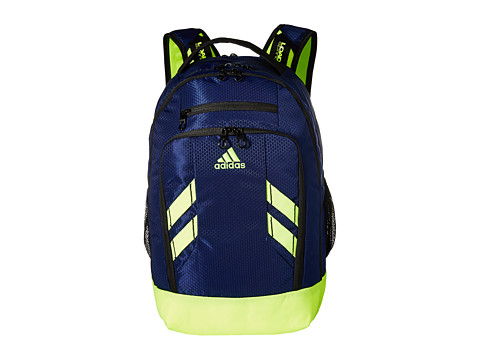 adidas - Rush Backpack (Dark Blue/Solar Yellow) Backpack Bags