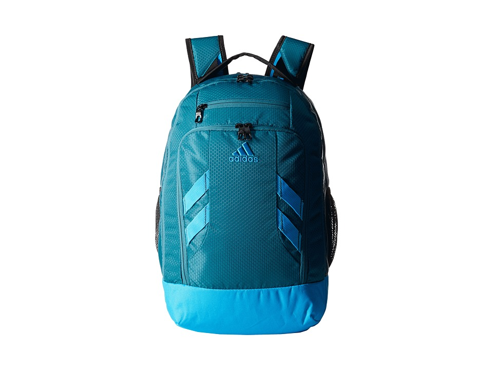 adidas - Rush Backpack (Surf Petrol/Solar Blue) Backpack Bags