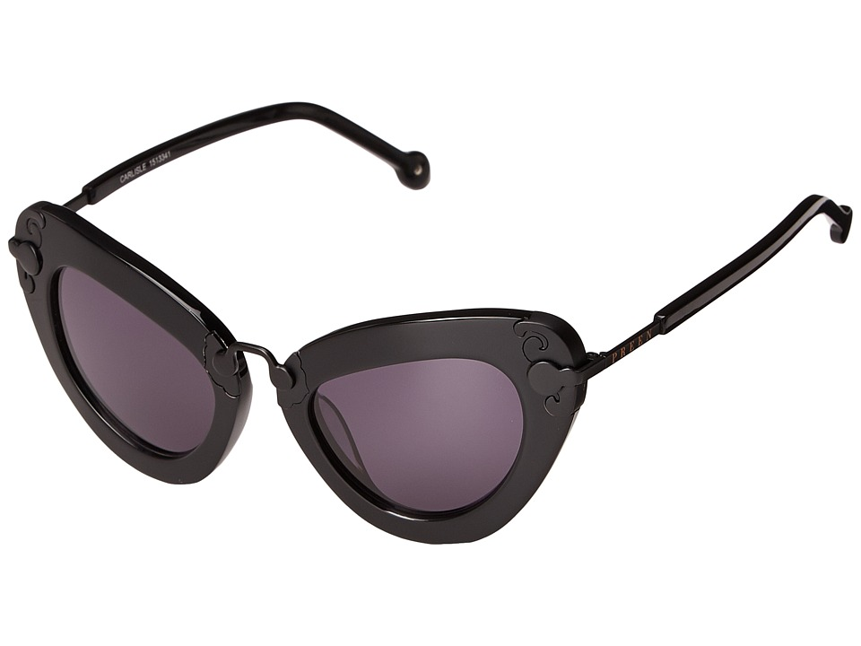 Preen by Thornton Bregazzi - Carlisle (Black/Smoke Mono) Fashion Sunglasses