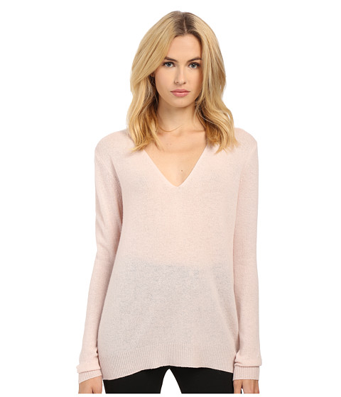 Theory - Adrianna Top (Blush) Women's Sweater