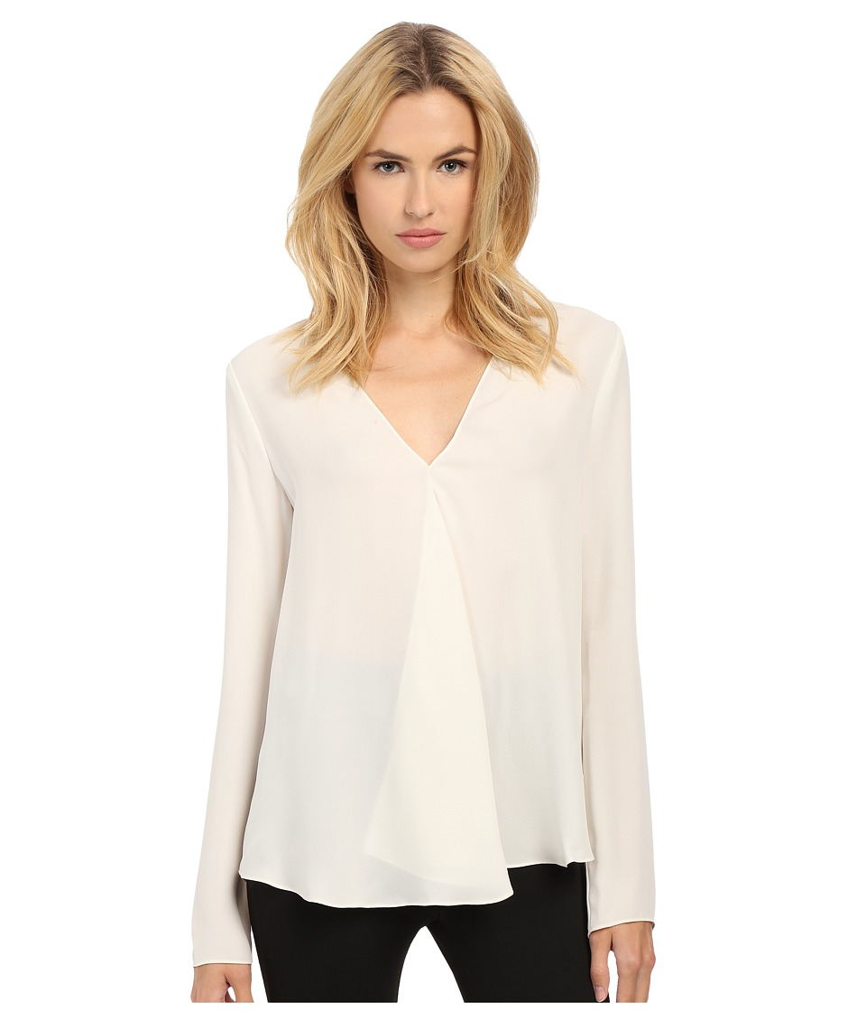 Theory - Meniph Top (Off-White) Women's Blouse