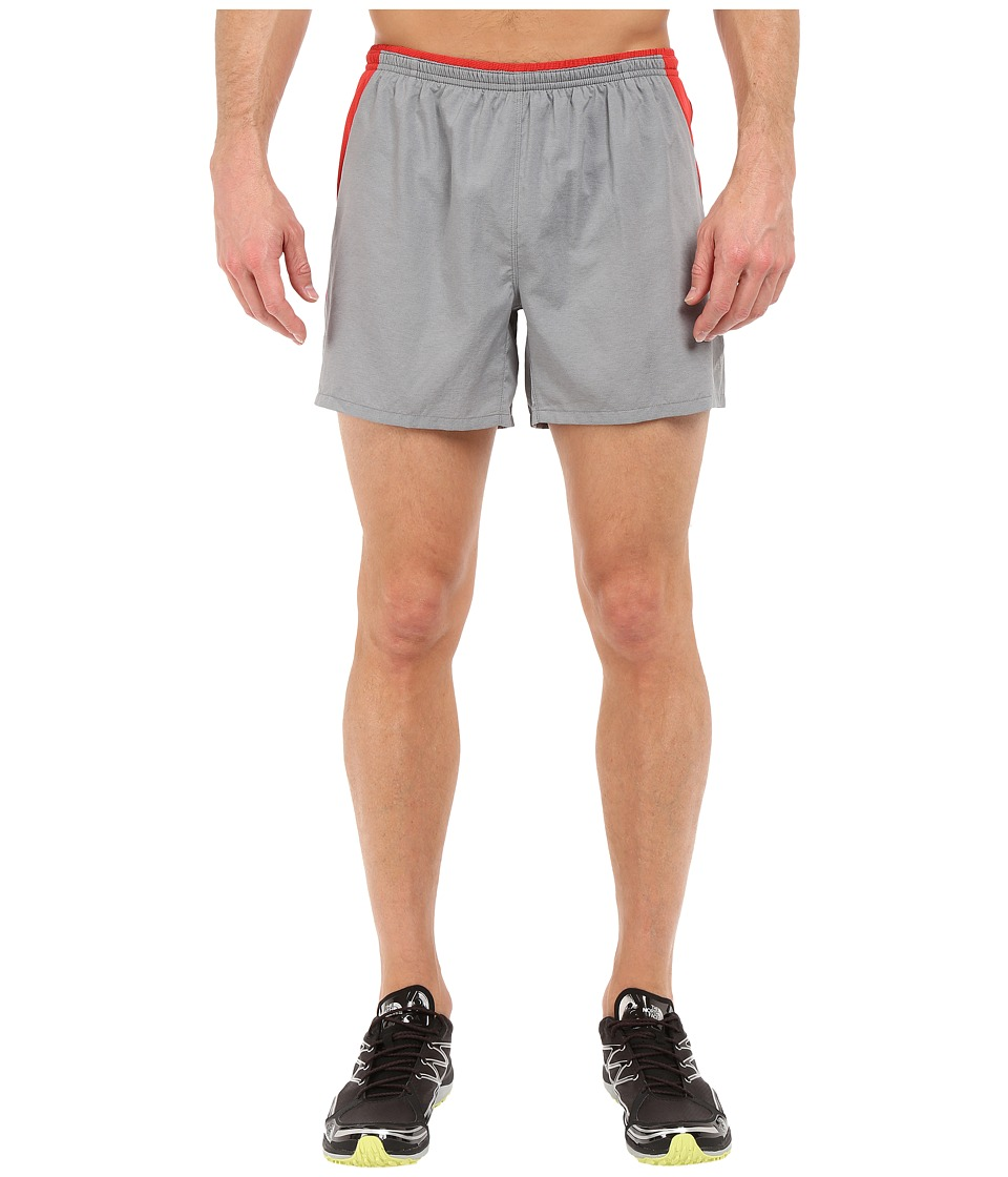 The North Face Better Than Naked Shorts (Mid Grey/Pompeian Red) Men