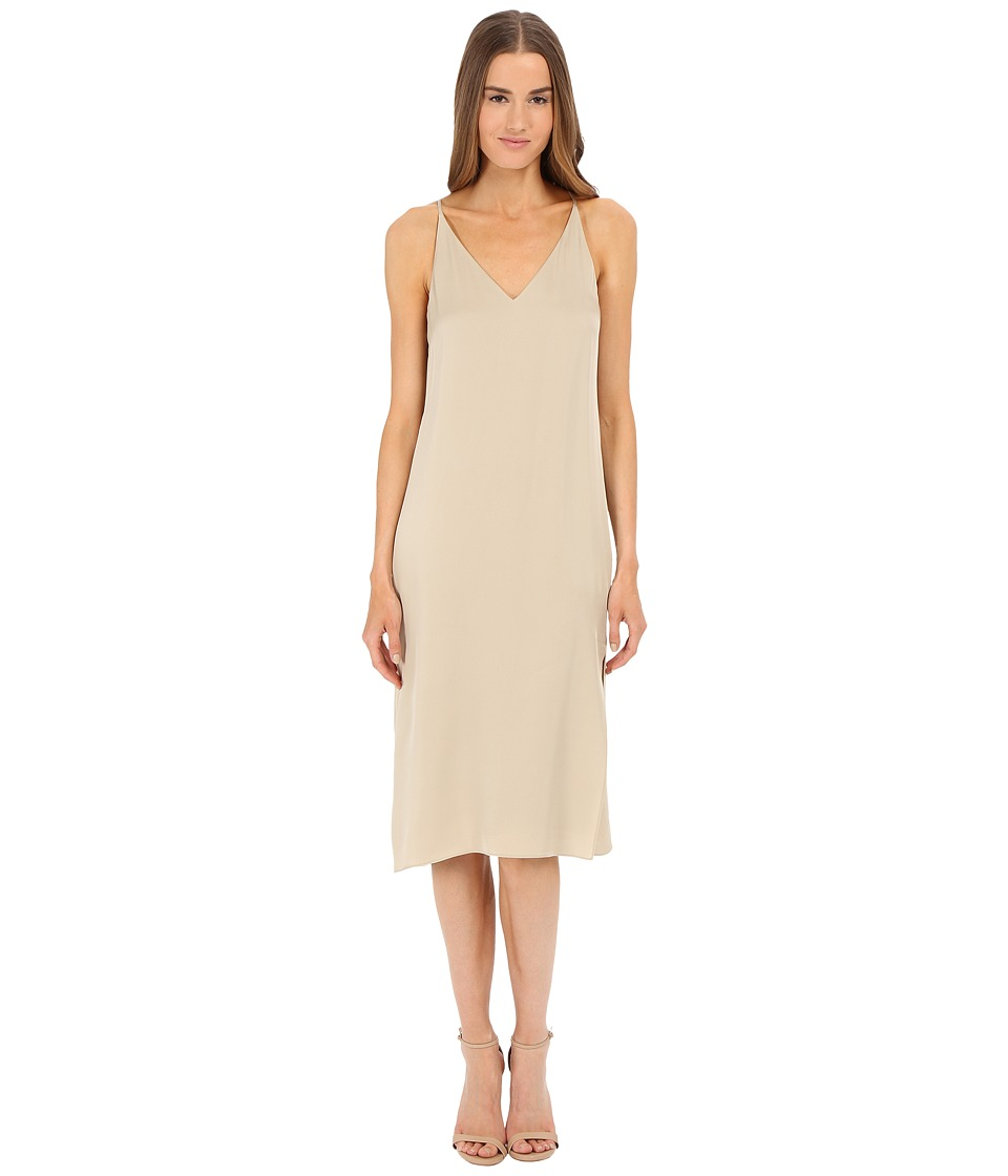 Theory - Kyun Dress (Classic Khaki) Women's Dress