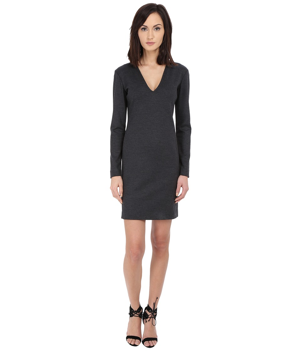Theory - Tonea Dress (Dark Charcoal) Women's Dress