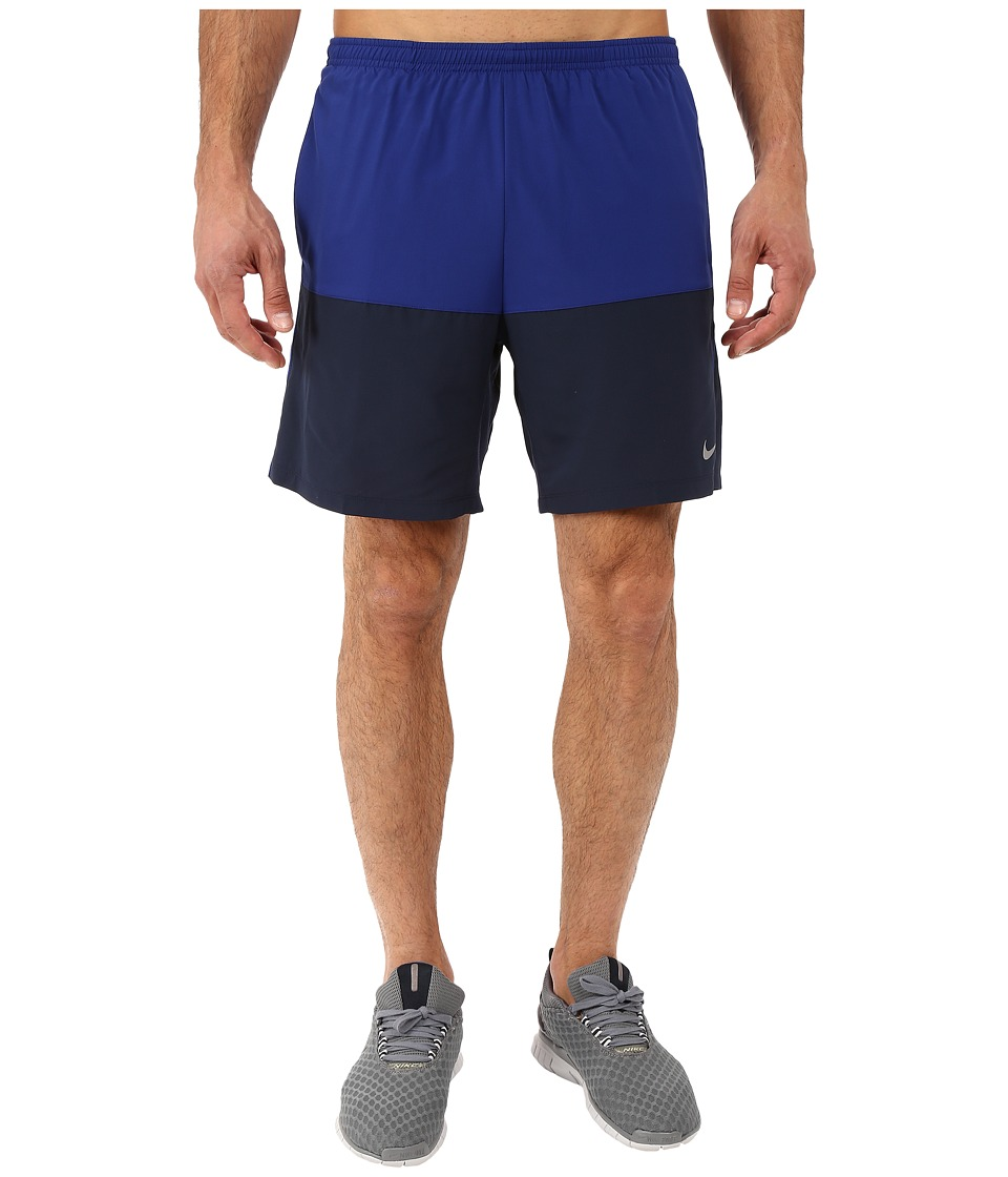 Nike - 7 Distance Running Short (Deep Royal Blue/Obsidian/Reflective Silver) Men's Shorts
