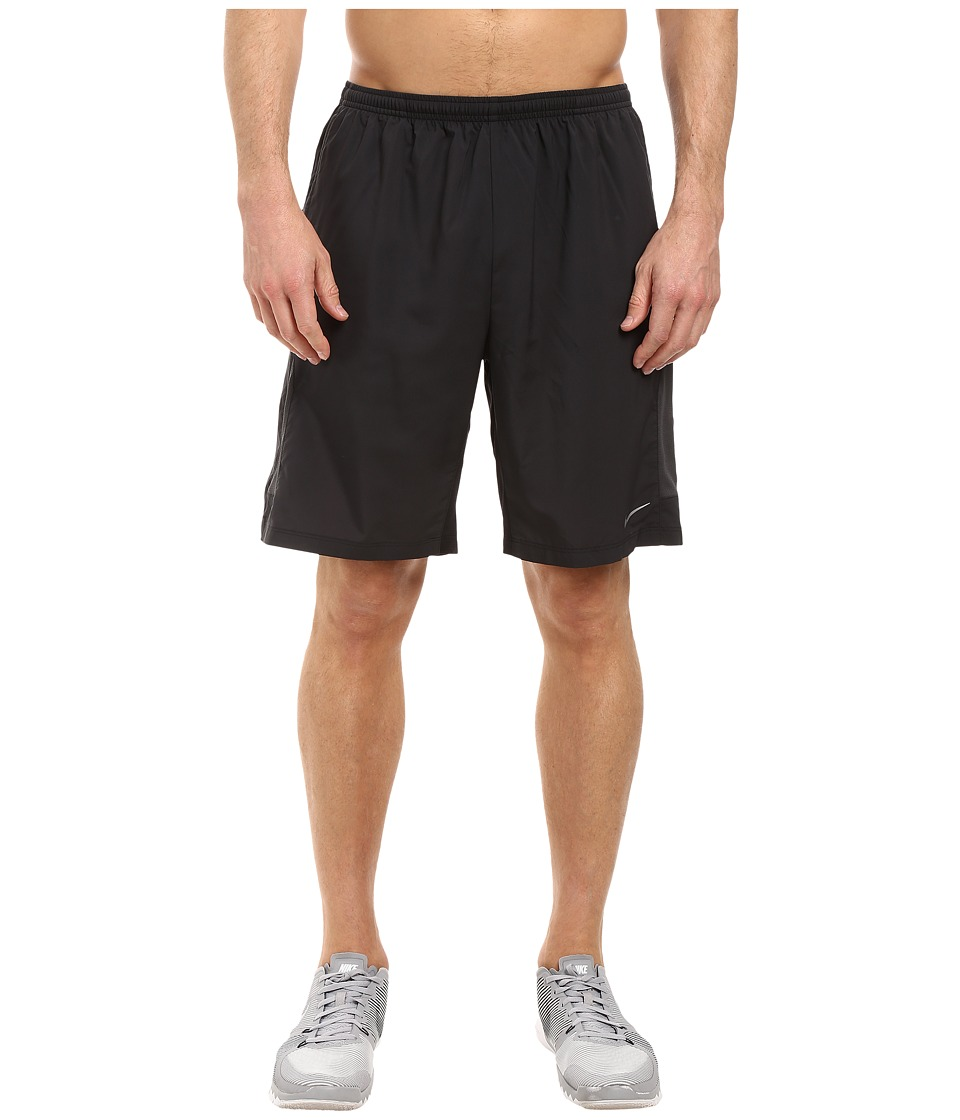 Nike - 9 Freedom Running Short (Black/Anthracite/Reflective Silver) Men's Shorts