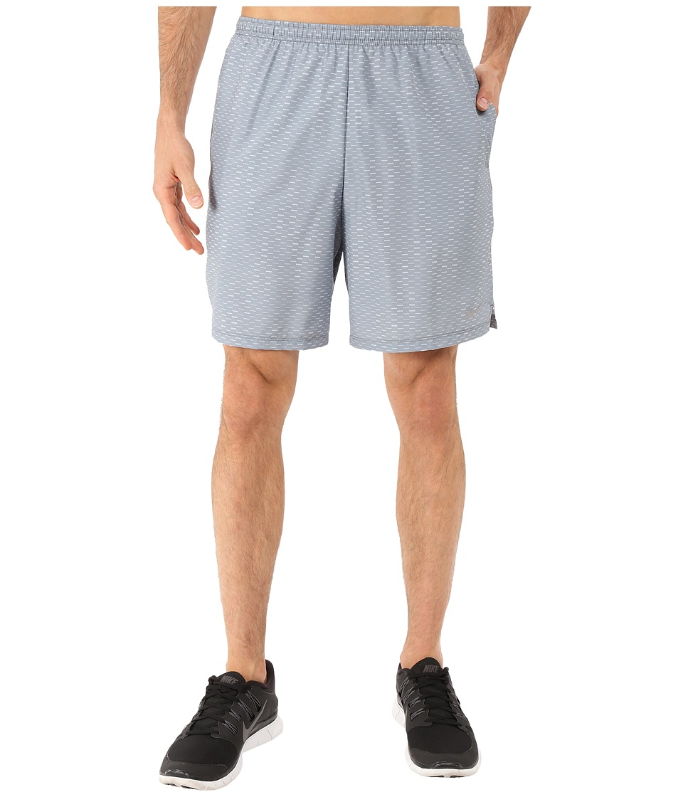 Nike - 7 Challenger Fuse Shorts (Cool Grey/Wolf Grey/Reflective Silver) Men's Shorts