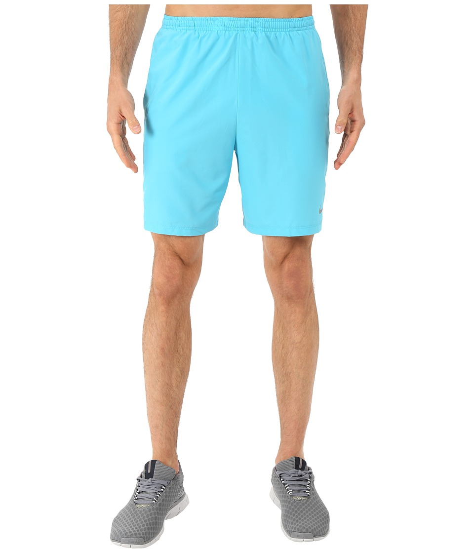 Nike - 7 Challenger Short (Omega Blue/Deep Royal Blue/Reflective Silver) Men's Shorts