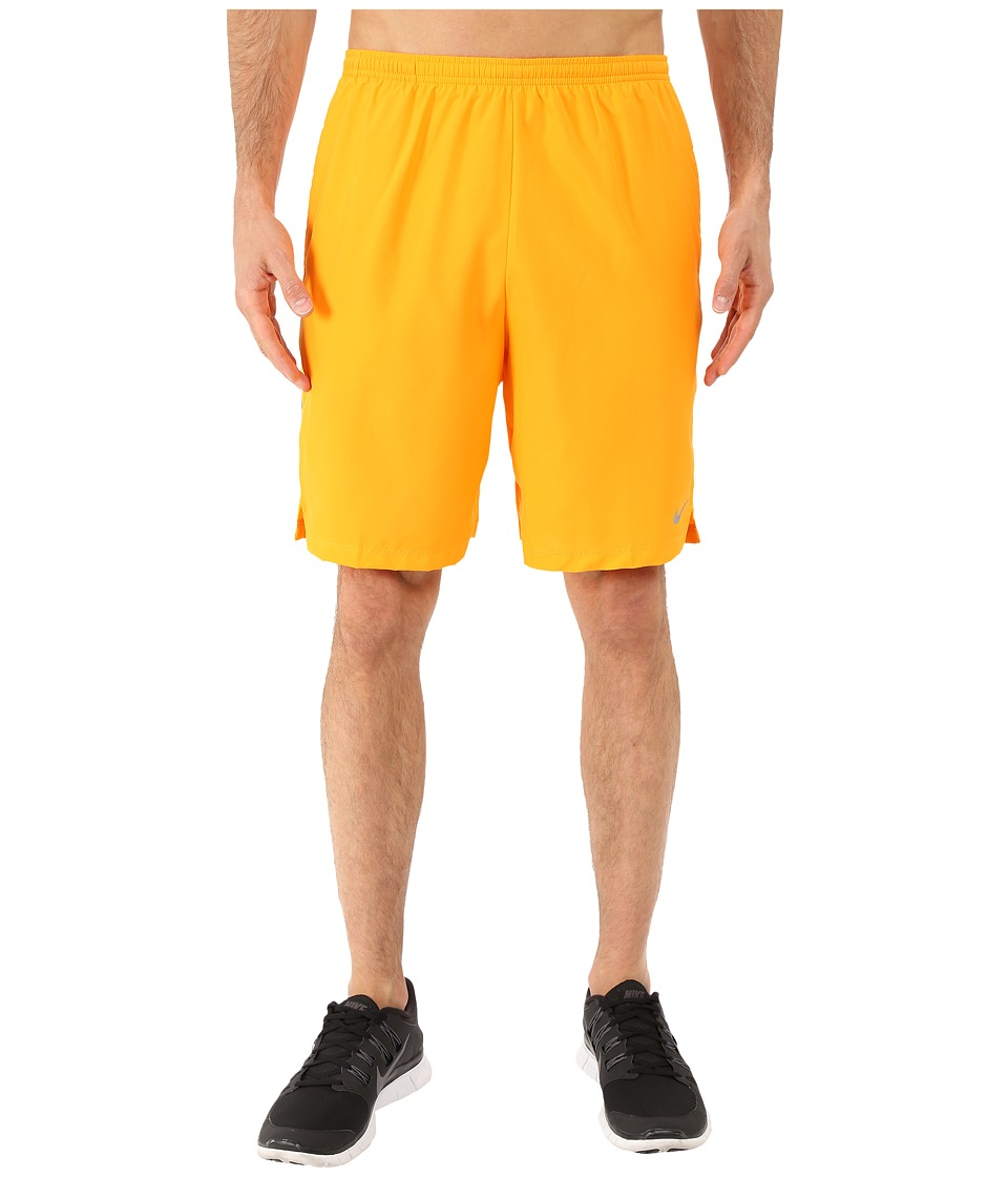 Nike - 9 Challenger Short (Vivid Orange/Deep Royal Blue/Reflective Silver) Men's Shorts