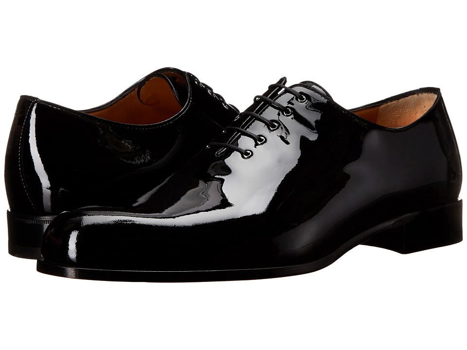 a. testoni - Patent Leather Dress Oxford (Black) Men