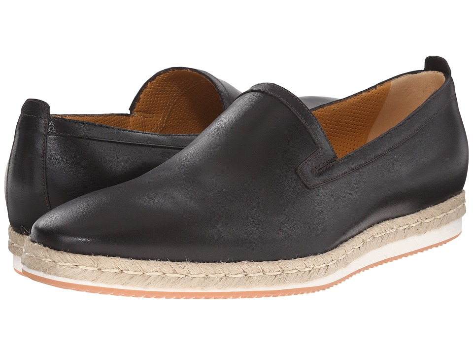 a. testoni - Sport Napa Calf Espadrille (Moro) Men's Slip on Shoes