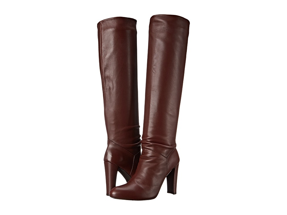 Stuart Weitzman - Monique (Chestnut Nappa) Women's Dress Pull-on Boots