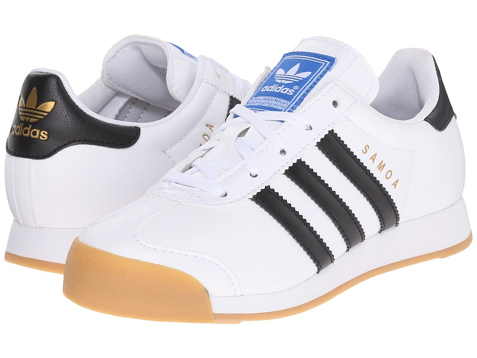 adidas Originals Kids - Samoa (Little Kid) (White/Black/White) Kids Shoes