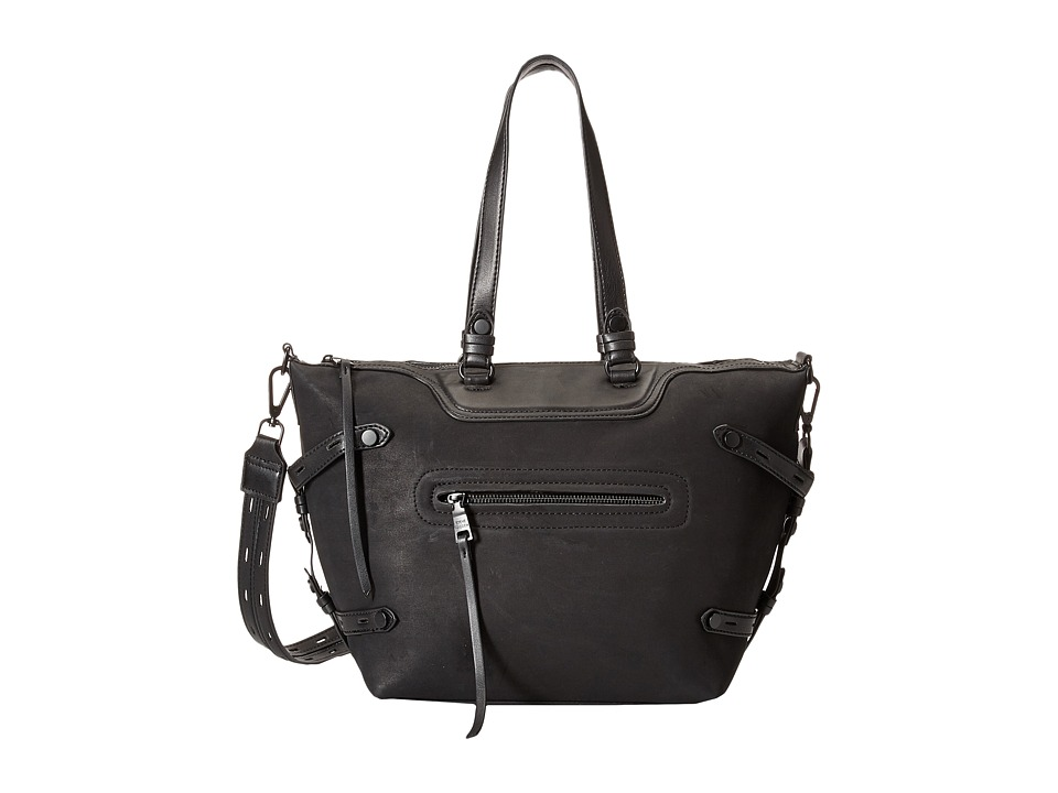 Steve Madden - Bstrippy Satchel (Black) Satchel Handbags