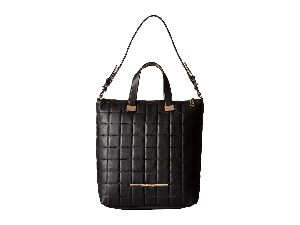 Steve Madden - Bbree Quilted Tote (Black) Tote Handbags