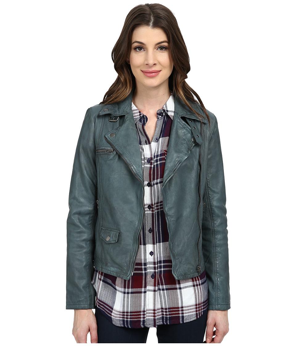 Lucky Brand - Moto Jacket (Castle Rock Grey) Women
