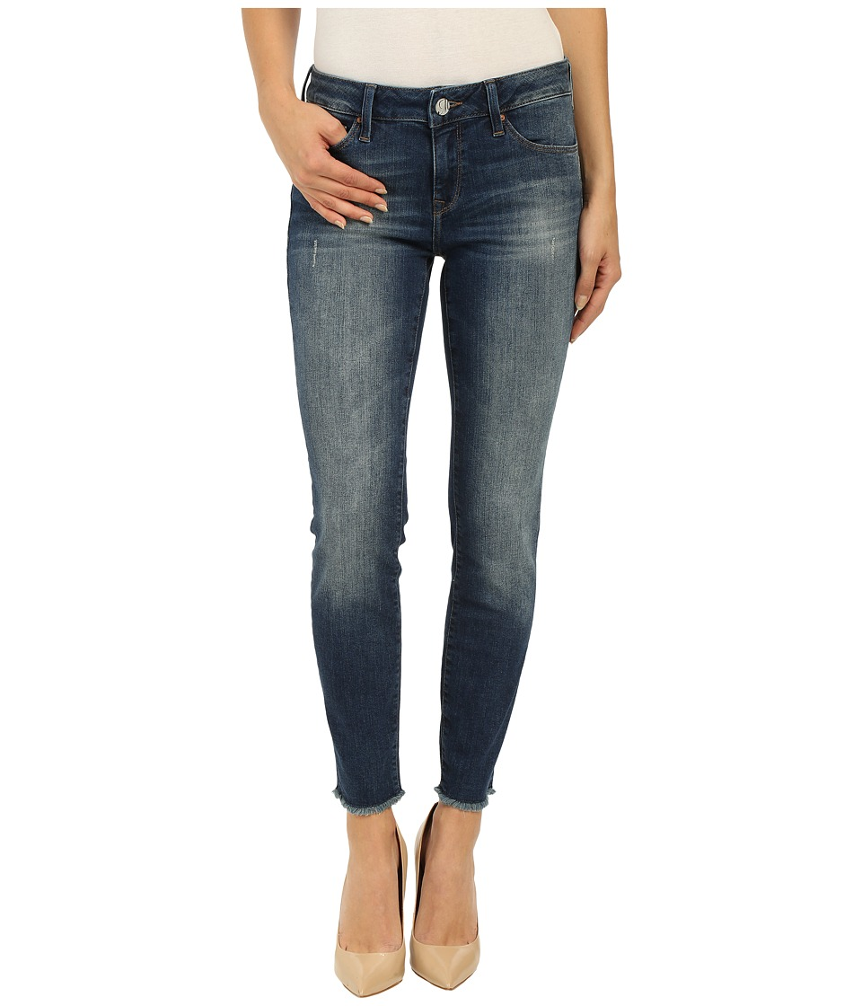 Mavi Jeans - Adriana Ankle in Dark Used Tribeca (Dark Used Tribeca) Women's Jeans
