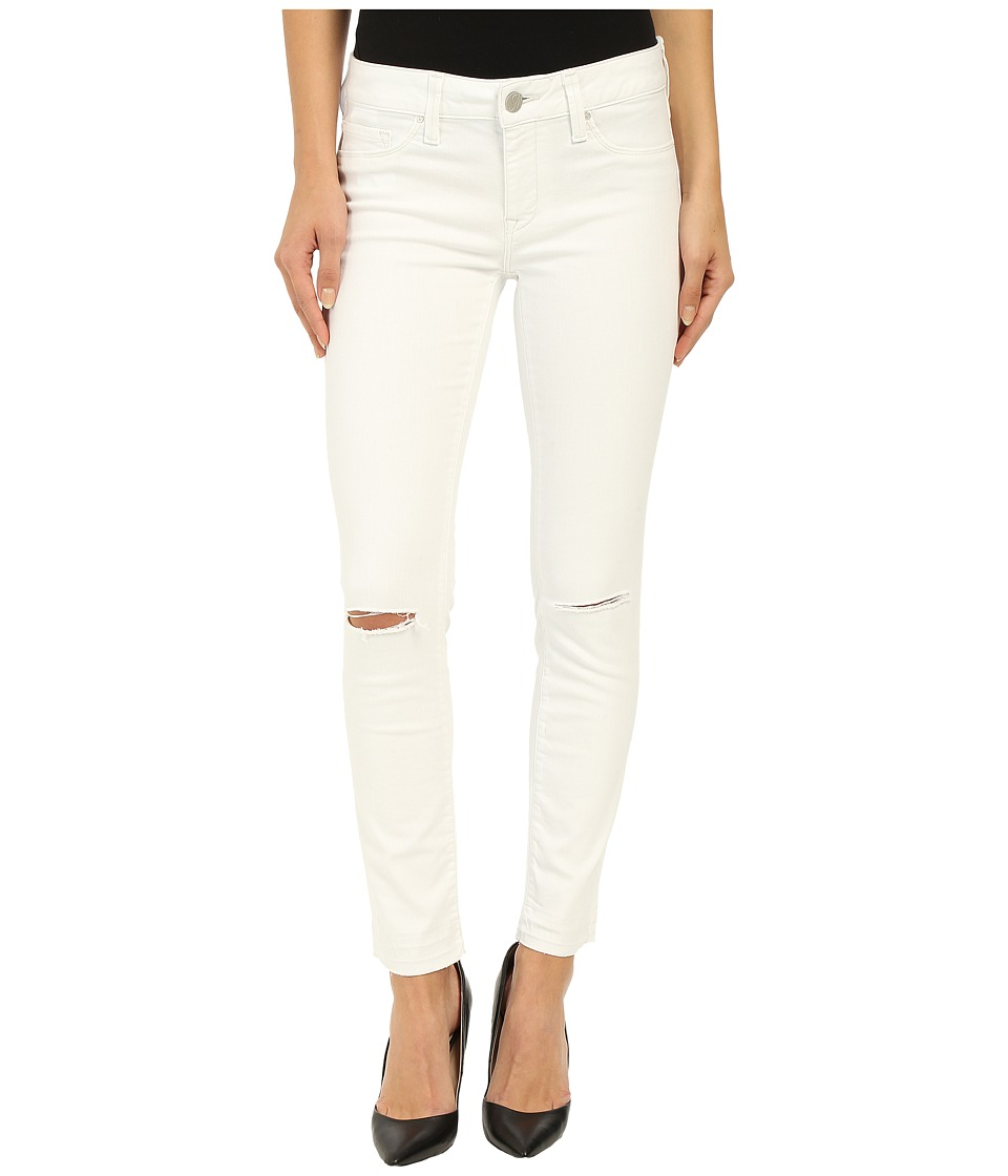 Mavi Jeans Adriana Ankle in White Destructed Tribeca (White Destructed Tribeca) Women