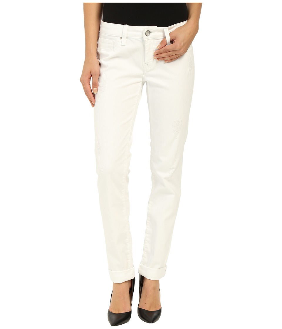 Mavi Jeans Emma in White Ripped Tribeca (White Ripped Tribeca) Women