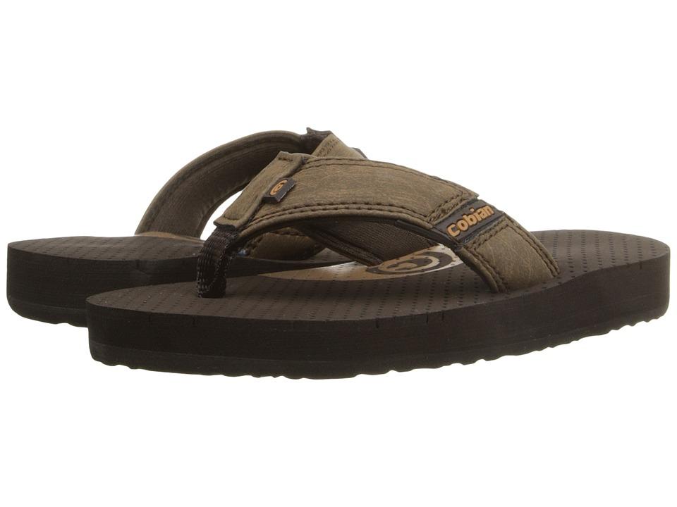 Cobian Arv Jr. (Toddler/Little Kid/Big Kid) (Mocha) Men's Sandals