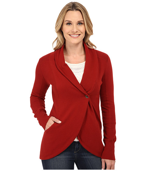 Lucky Brand - Daryn Cocoon Cardi (Pacific Red) Women