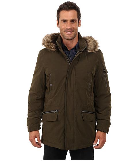 Nautica - Bi Blend Zip Front Jacket (Olive) Men