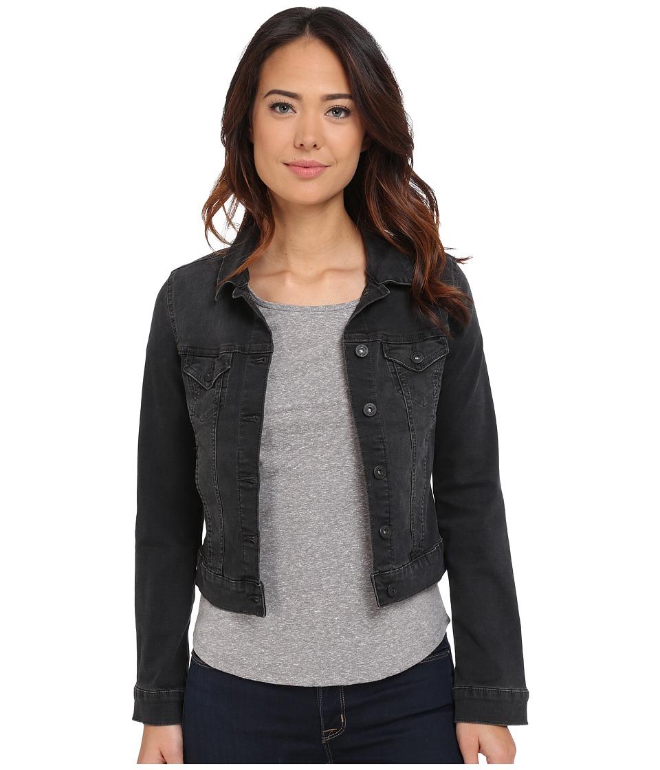 Mavi Jeans - Samantha Denim Jacket (Smoke Used Tribeca) Women's Coat