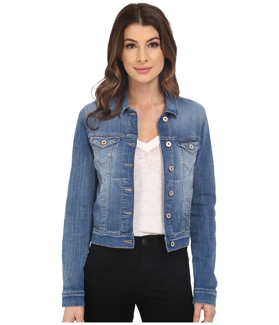Mavi Jeans - Samantha Denim Jacket (Light Cloud Portland) Women's Coat